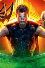 iPhone fondos de pantalla Película de 2017, Thor: Ragnarok