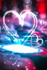 Lindos corações de amor