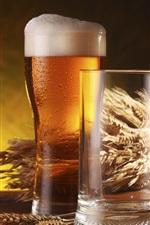 Preview iPhone wallpaper Beer, bottle, drinks