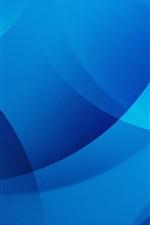Blue circles, abstract