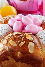 Aperçu iPhone fond d'écranPain, oeufs, Pâques