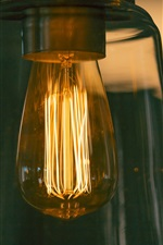 Preview iPhone wallpaper Bulb lighting
