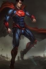 DC Comics, superman, art picture