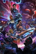 Preview iPhone wallpaper Dead Rising 3, game art picture