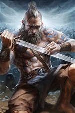 Diablo 3: Reaper of Souls, bárbaro, espada