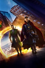 Preview iPhone wallpaper Doctor Strange, magic movie