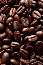 Preview iPhone wallpaper Fried coffee beans