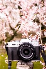 Preview iPhone wallpaper Fujifilm X-T10 digital camera