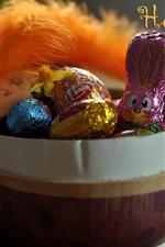 Feliz Páscoa, doces