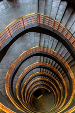 Preview iPhone wallpaper Ladders, spiral