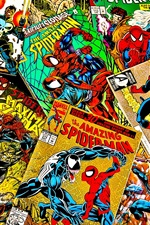 Preview iPhone wallpaper Marvel comics, magazines, covers, spiderman