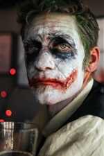 Mask, clown