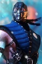 Preview iPhone wallpaper Mortal Kombat X, ninja