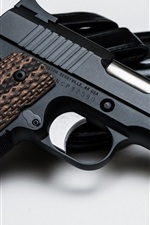 Preview iPhone wallpaper Nighthawk 1911 gun, weapon