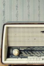 Старое радио, приемник