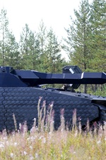 Preview iPhone wallpaper Poland, stealth tank, armored