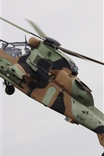 Preview iPhone wallpaper Tiger A38 helicopter flight