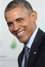O presidente antecessor dos EUA, Obama