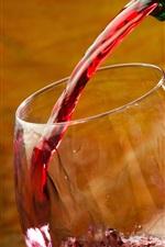 Wine, bottle, glass cup