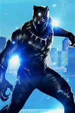 Preview iPhone wallpaper 2018 movie, Black Panther