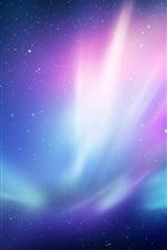 iPhone обои Абстрактный свет, звезды, пространство