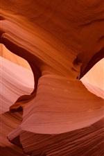 Antelope Canyon, red rocks, desert, USA