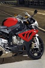 iPhone fondos de pantalla Moto roja BMW S1000RR