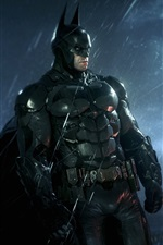 Batman: Arkham Knight, PS4 games, rainy night