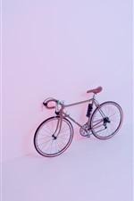 iPhone fondos de pantalla Bicicleta, pared, luz