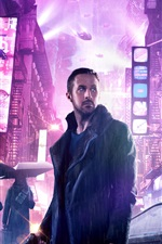 Preview iPhone wallpaper Blade Runner 2049, Ryan Gosling, 2017 movie