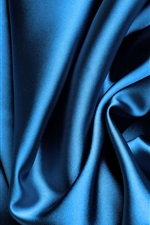 Preview iPhone wallpaper Blue silk background