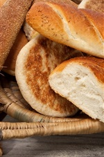 Preview iPhone wallpaper Bread, wheat