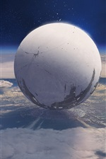 Preview iPhone wallpaper Destiny, game HD, planet