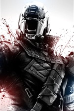 Preview iPhone wallpaper Destiny, soldier, blood, games HD