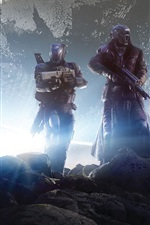 Preview iPhone wallpaper Destiny, soldiers, aircraft