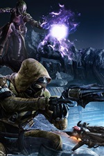 Preview iPhone wallpaper Destiny, soldiers, alien, games
