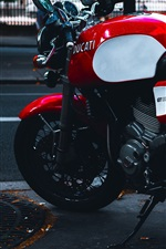 Preview iPhone wallpaper Ducati GT 1000 motorcycle
