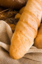 Preview iPhone wallpaper Food, bread, cloth