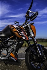 Preview iPhone wallpaper KTM motorcycle, sports