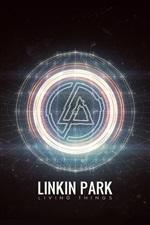 Linkin Park rock band abstract logo