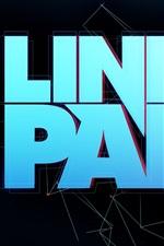 iPhone壁紙のプレビュー リンキンパークのロックバンドロゴ