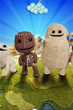 Preview iPhone wallpaper Little Big Planet, PS4 games