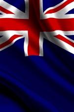iPhone fondos de pantalla Bandera de Nueva Zelanda