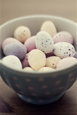 Preview iPhone wallpaper One bowl of bird eggs