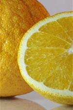 Preview iPhone wallpaper Oranges, fruit