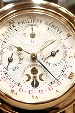 Preview iPhone wallpaper Patek Philippe Geneve watch