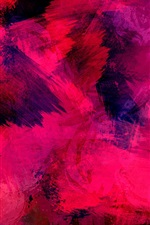 Preview iPhone wallpaper Pink paint texture, abstract background