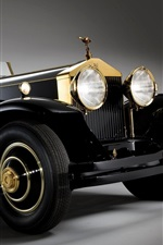 Rolls Royce classic car, retro