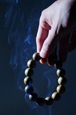 Rosary, hand