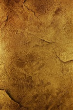 Preview iPhone wallpaper Roughness wall surface cracks